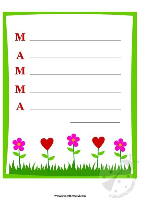 lettere per il compleanno della mamma carta da lettere per la festa della mamma lavoretti creativi