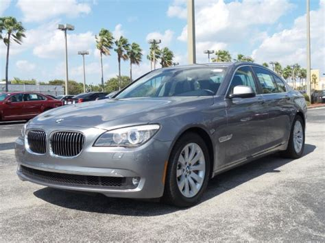 Used Bmw 750 by Fairly Used 2011 Bmw 750 I Drive