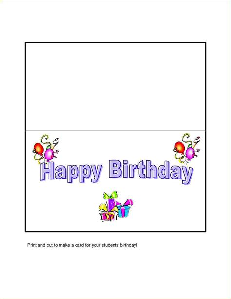 microsoft card templates birthday word birthday card template hcwt step 2a open blank