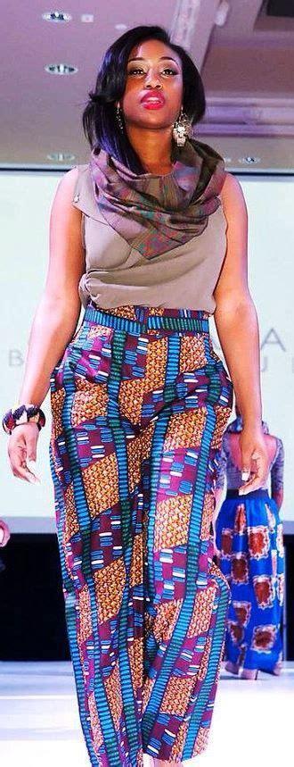 latest ankara styles with trouser ankara trousers styles
