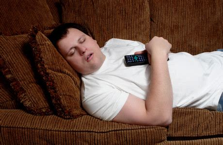 To Sleep Better Get Off The Couch