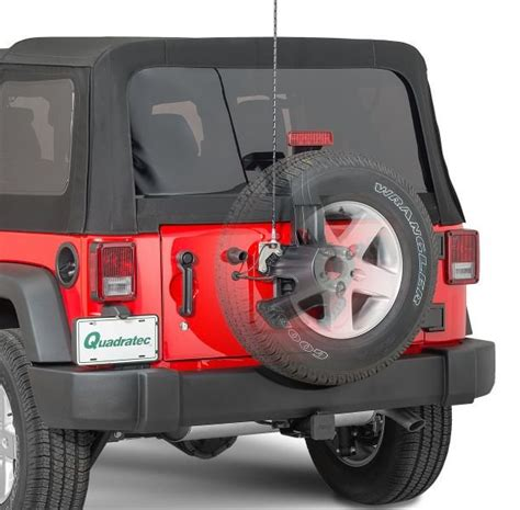 Jeep Tj Antenna Mount Quadratec 174 Jk Antmk L Duty Stainless Cb Radio