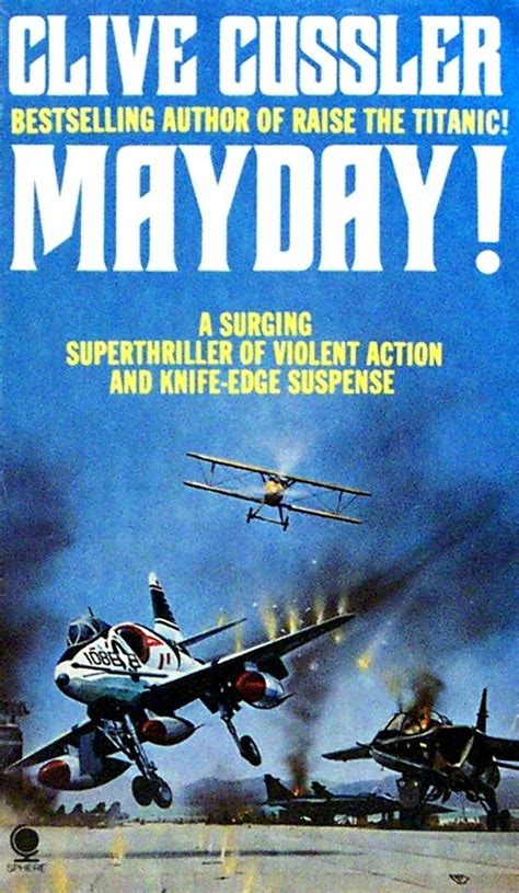 mayday books professor yaffle quot mayday quot by clive cussler book reviews