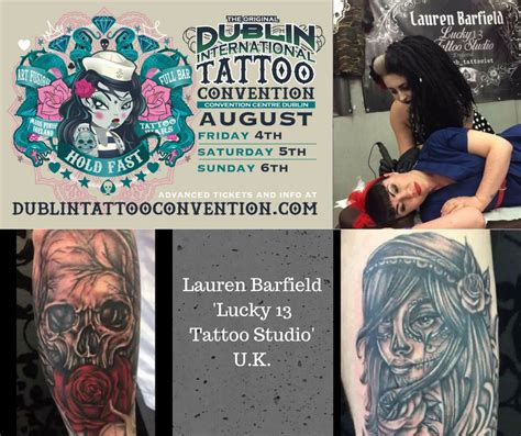 tattoo convention 2017 uk lauren barfield dublin international tattoo convention