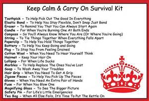 Survival kit gag gifts pinterest