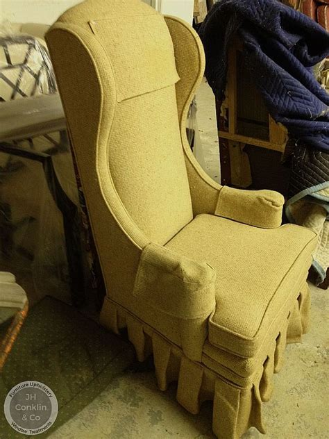 Armchair Upholstery Cost by Cost To Re Upholster A Wing Chair