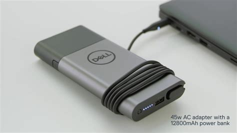 Notebook Power Bank dell hybrid power adapter and power bank