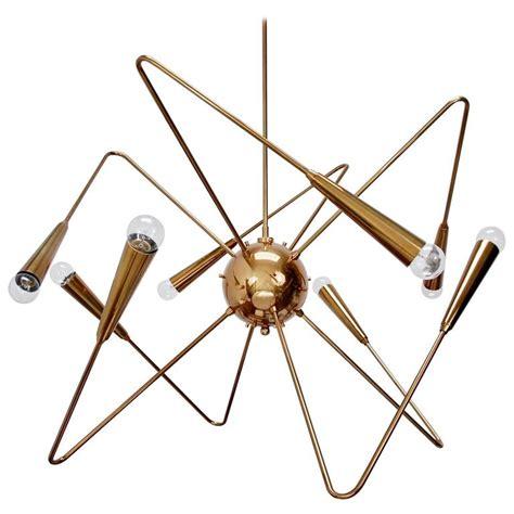 Lu Chandelier lu brass sputnik chandelier by lumfardo luminaires for