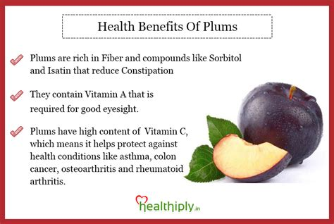 Plumb Benefits by Multiply Your Health With Health Tips January 2016