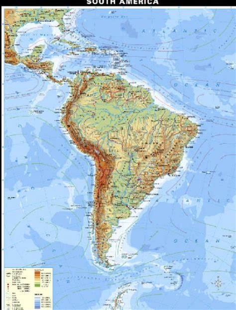 south america map physical physical map of south america driverlayer search engine