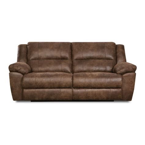 motion sofas simmons upholstery phoenix mocha double motion sofa