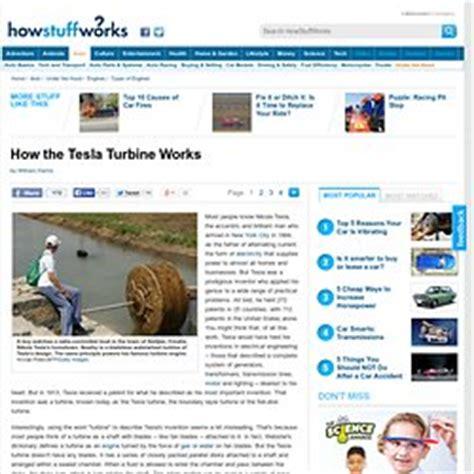 how tesla turbine works turbine tesla pearltrees