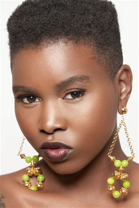 black short hair fades for woman natural hairstyles tapered natural hairstyles and fade