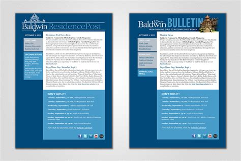 Acquire Llc Baldwin Email Blast Newsletter Acquire Llc Email Blast Design Templates
