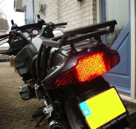 Led Rücklicht Bmw R 1150 Rt by Led Fanale Posteriore Con Leggiatore Rosso Bmw R 850 Rt
