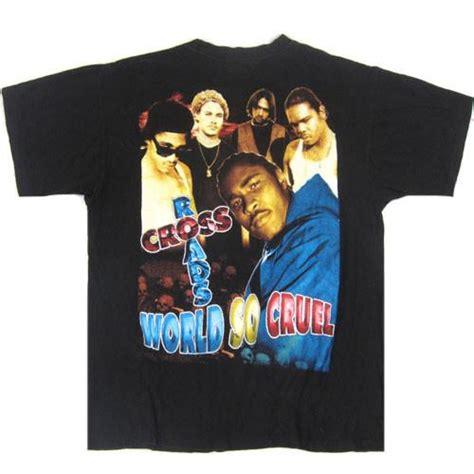 Tshirt Kaos Bone Thugs N Harmony vintage bone thugs n harmony crossroads t shirt hip hop