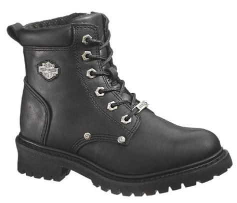 lace up biker boots harley davidson women s shawnee lace up black 5 inch