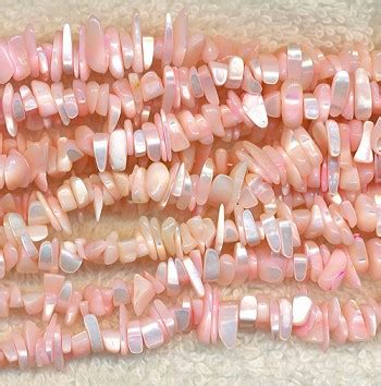 Maxy Pink Soft soft pink of pearl chips
