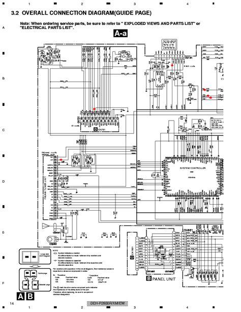 pioneer deh mp wire diagram