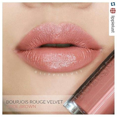 Bourjois Edition Velvet Cool Brown repost lippielust with repostapp bourjois velvet edition no 17 cool brown i