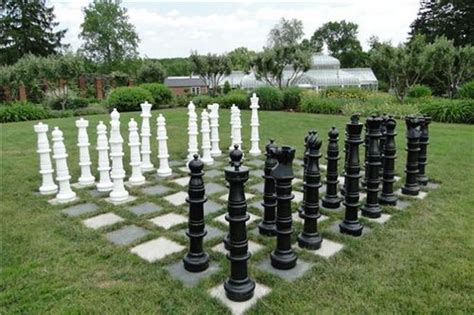 outdoor chess 25 ideas and inspirations