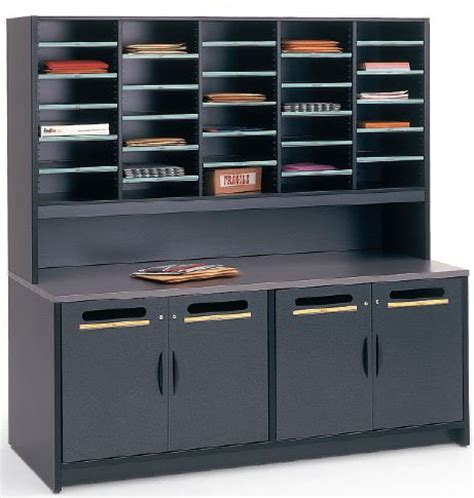 Mailroom Furniture by Mailroom Furniture Mail Room Sorters Tables Cabinets