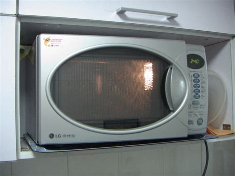 Microwave Oven a modern microwave oven