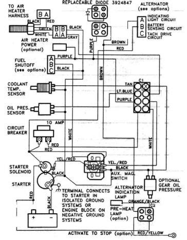 omc solenoid wiring diagram omc free engine image for