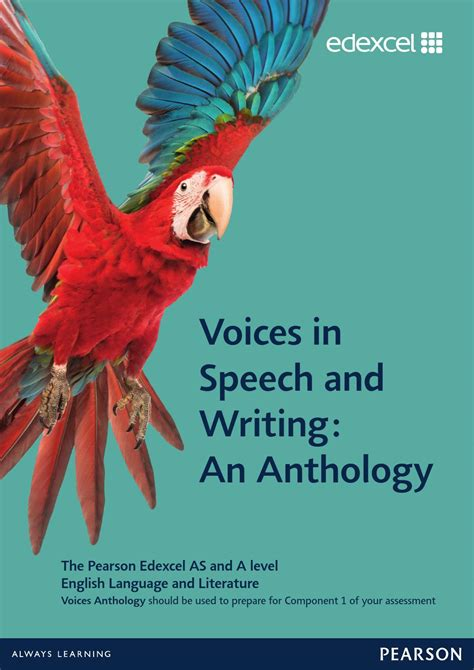 raising voice an anthology of writers by the same the same annual anthology volume 1 books edexcel language and literature voices anthology
