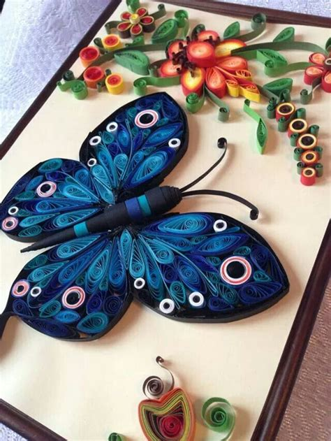 quilling craft tutorial butterfly quilling love pinterest quilling and butterfly
