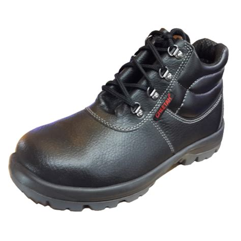 jual sepatu safety shoes cheetah 7106h mega safety