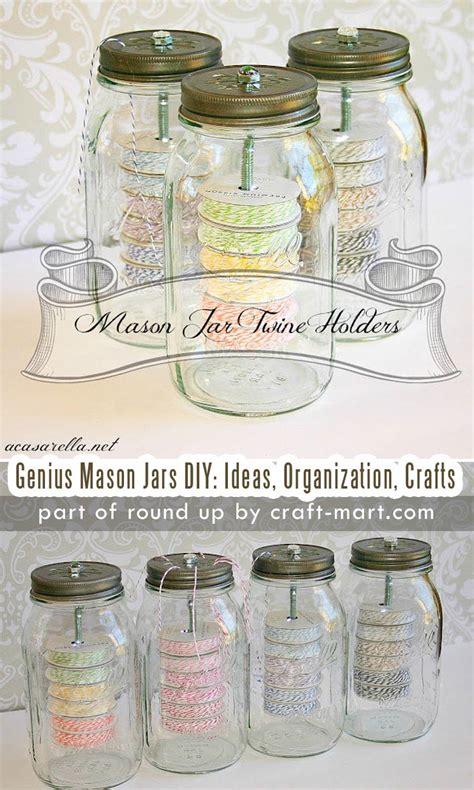simply genius mason jars diy ideas organization crafts