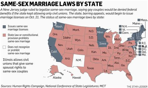marriage map jobsanger n j judge says banning same marriage violates the state constitution