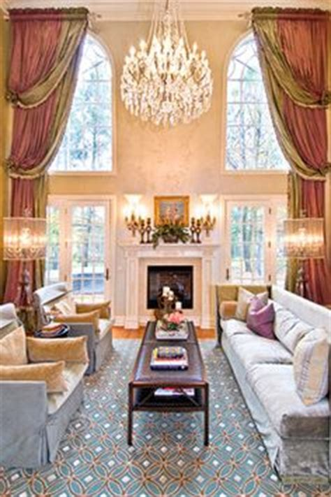 high ceiling drapes tall wide window treatments on pinterest curtain