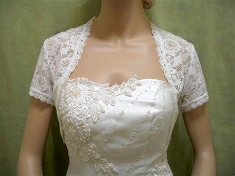 white bolero jacket wedding white sleeve bridal lace wedding bolero jacket shrug