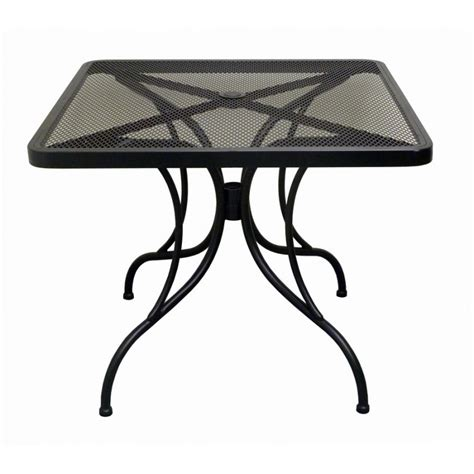 steel patio table steel patio table 36 quot x 36 quot