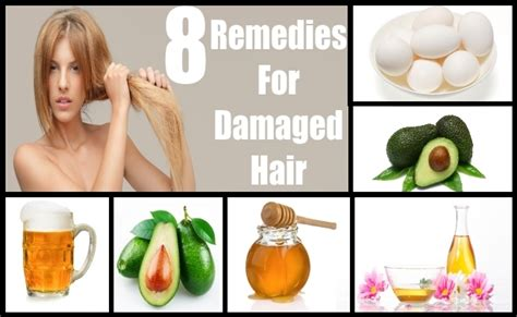 top 8 home remedies for damaged hair treatments