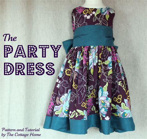 pattern free dress the party dress printable pattern and tutorial the