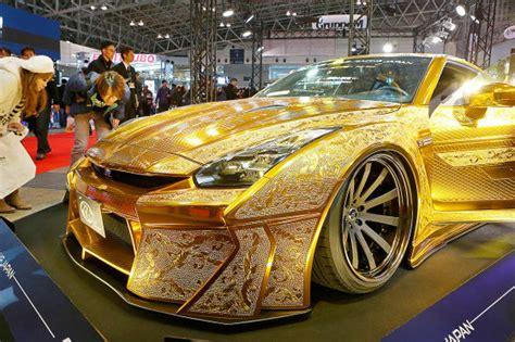 tokyo auto salon  die tuning autos autobildde