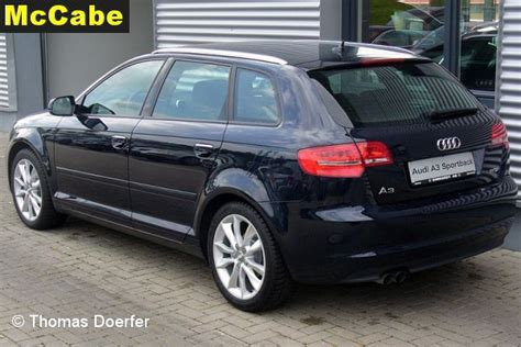 Audi A3 Sportback Dachreling by Audi A3 Sportback 5 Dr Rr 2004 To Dec 2012 Towbar Mccabe