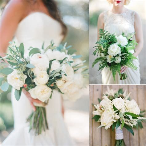 white wedding bouquet flowers top 10 stunning white and green bouquets fiftyflowers