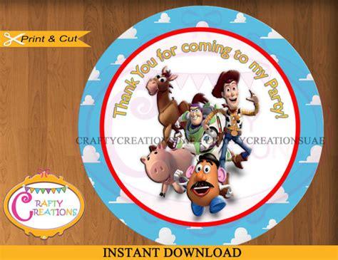printable toy story christmas gift tags instant download toy story favor tags toy story sticker