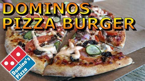 domino pizza utrecht dominos pizza cheeseburger fast food review utrecht
