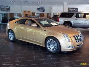 Cadillac Gold Summer Gold Metallic 2013 Cadillac Cts 4 Awd Coupe
