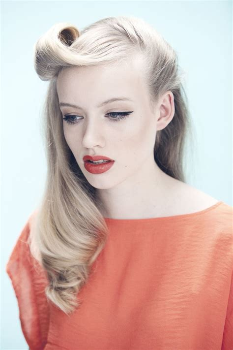 how to old fashion hair styles retro style hair and make up