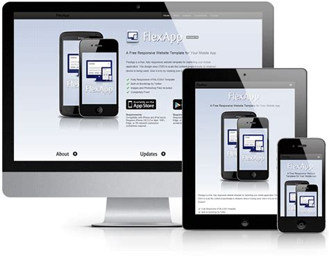 html template mobile 30 free responsive psd website templatespixel2pixel design