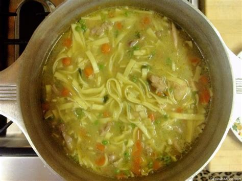 chicken noodle soup geaux ask