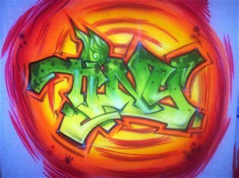 Masker Airbrush graffiti painting graffiti character masker