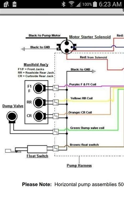 fleetwood bounder leveling jack wiring diagram