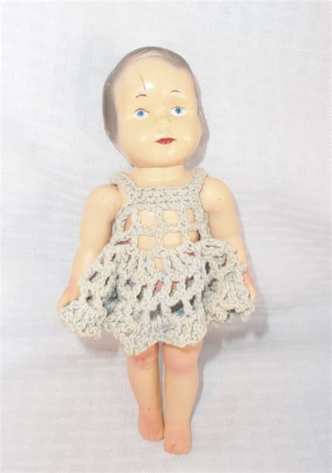 8 inch composition doll 20s 30s vintage composition patsy type doll by effanbee 8 inch